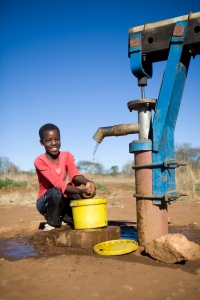 A Community Water Supply in Zimbabwe