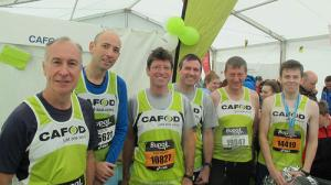 Last years team from SS John Fisher & Thomas More including Keith (far left) and Colin (second from left)