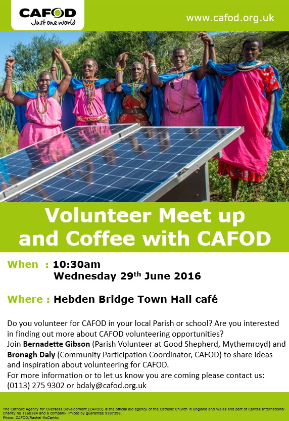 Volunteer Meet Up Hebden Bridge Wed 26th May 2016 pic