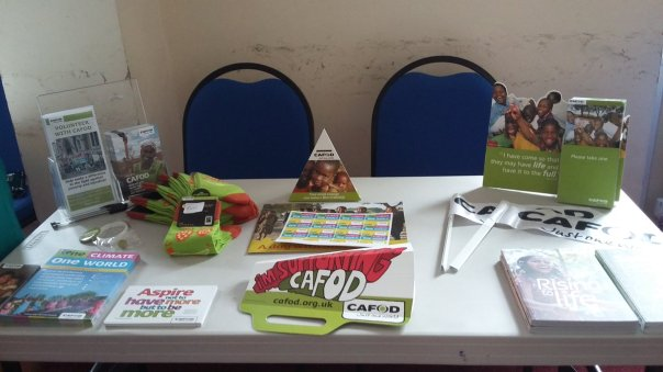 CAFOD leeds at Otley event