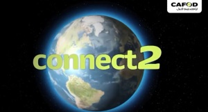 Connect2 world image and logo