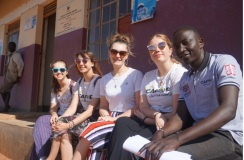 gappers uganda with caritas staff