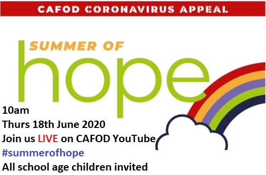 Summer of Hope Assembly with date